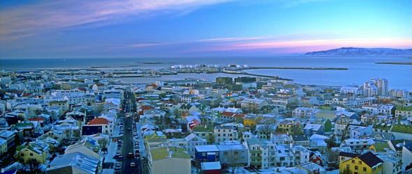 Reykjavik, Iceland (Image via Wikipedia)