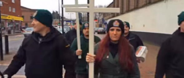 Video: 'Christian Patrol' Confronts Muslims In Britain