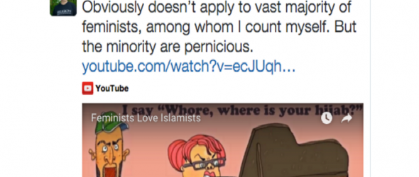 Dawkins Tweets 'Feminists Love Islamists' – Pandemonium Ensues