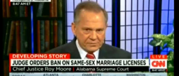 Alabama Chief Justice Orders Ban On Same-Sex Marriage