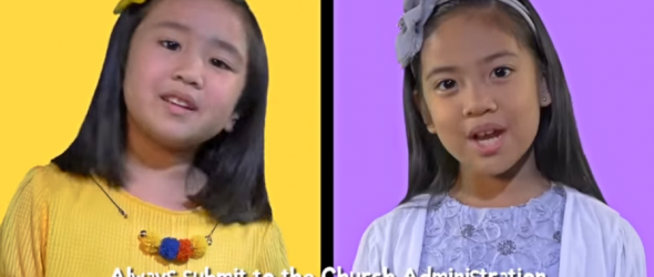 Creepy Video Tells Children To Always Obey Church Administration