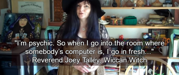 Wiccan Witch Claims To Cast Viruses Out Of Computers Using Magic