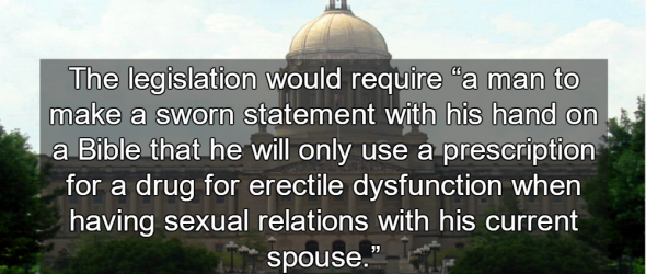 Kentucky Bill Restricts Viagra To Married Men With Note From Wife