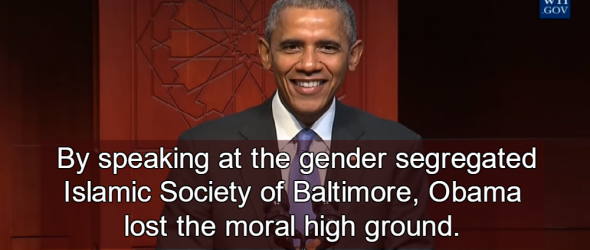 Obama's Mosque Visit A Tacit Endorsement Of Gender Apartheid