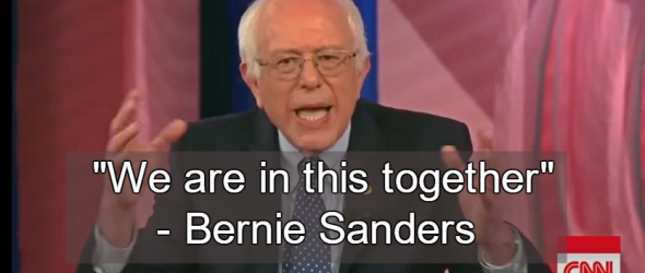 Bernie Sanders Reaffirms Humanist Stance At Democratic Town Hall