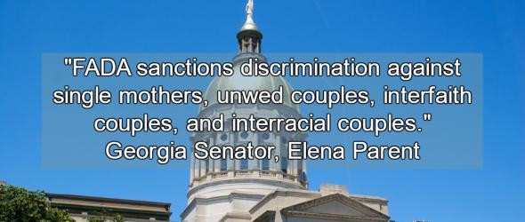 State Sponsored Discrimination: Georgia Passes Religious Freedom Bill