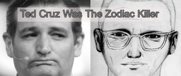 Shirts Proclaiming 'Ted Cruz Was The Zodiac Killer' Fund Abortions In Texas