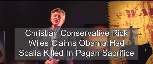 Christian Conservatives Claim Obama Killed Scalia In Pagan Sacrifice