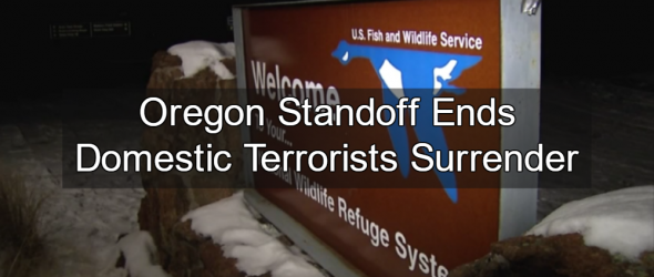 Domestic Terrorists In Oregon Surrender