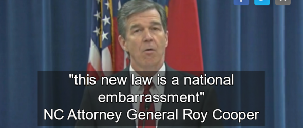 North Carolina Attorney General Refuses To Defend Anti-LGBT Law In Court