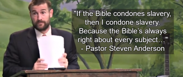 Controversial Pastor Defends Slavery: 'The Bible's Always Right'