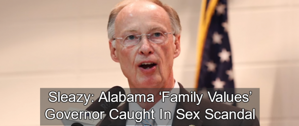 Alabama 'Family Values' Governor Caught In Sex Scandal