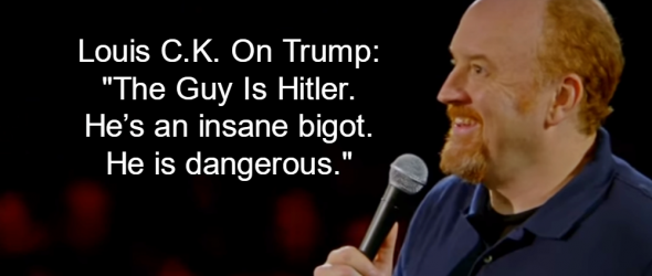 Louis C.K. On Donald Trump: 'The Guy Is Hitler'
