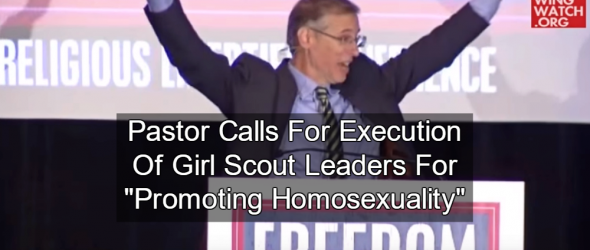 Pastor: Execute Girl Scout Leaders For Promoting Homosexuality