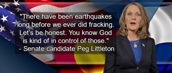 GOP Senate Candidate Claims God Causes Earthquakes, Not Fracking
