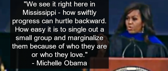 Michelle Obama Slams Mississippi's 'Religious Freedom' Law