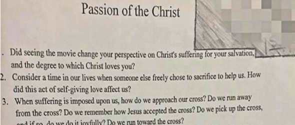 Busted: Christian Teacher Suspended After Obnoxious Rant Is Caught On Tape