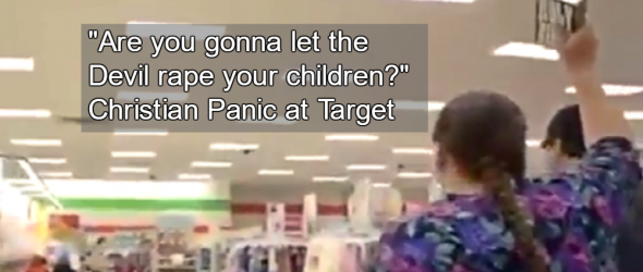 Bible-Waving Mom Screams At Target Customers About Bathroom Policy