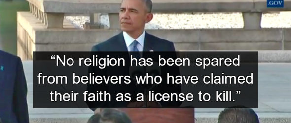 Obama: Every Religion Claims 'License To Kill'