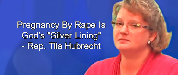 Missouri Rep. Calls Pregnancy By Rape God's 'Silver Lining'