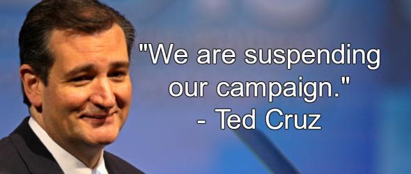 Cruz Suspends Campaign, Trump Dominates GOP