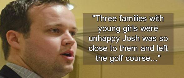 Parents Panic After Josh Duggar Appears At Mini-Golf Course