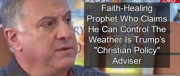 Trump's 'Christian Policy' Adviser Claims He Can Control The Weather