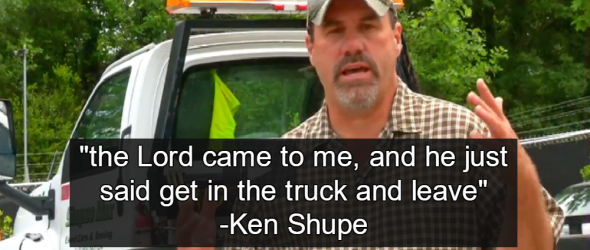 God Commands Tow Truck Driver To Abandon Disabled Bernie Sanders Supporter