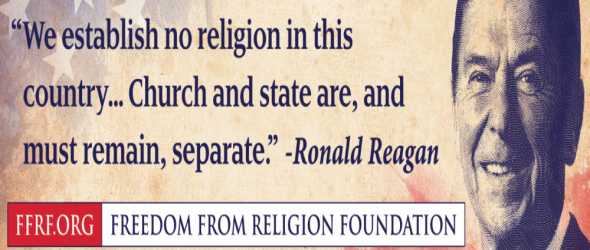 Ronald Reagan Promotes Church State Separation At GOP Convention