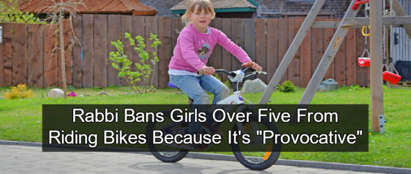 Rabbi Bans Females From Riding Bikes Because It's 'Provocative'