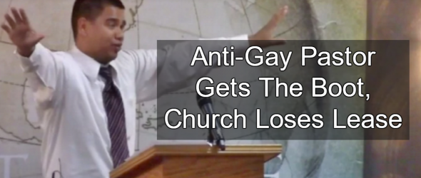 Anti-Gay Pastor That Praised Orlando Massacre Loses Lease