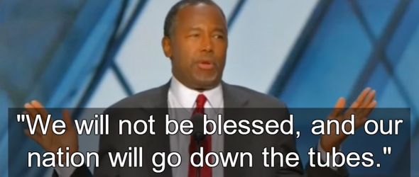 Ben Carson Connects Hillary Clinton To Lucifer