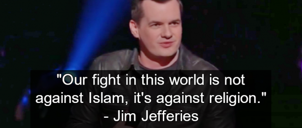 Jim Jefferies: 'Save The Human Race' From Religion