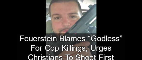 Pastor: Christians Must Carry Guns To Protect Cops From Godless
