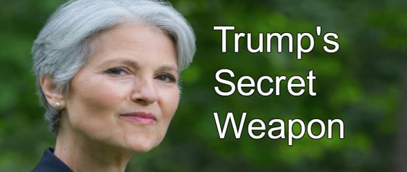 Jill Stein: Trump's Secret Weapon
