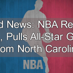 NBA Pulls All-Star Game From North Carolina