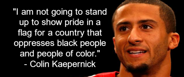 NFL Quarterback Refuses To Stand For National Anthem