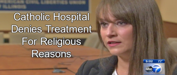 Catholic Hospital Turns Away Bleeding Woman With Dislodged IUD