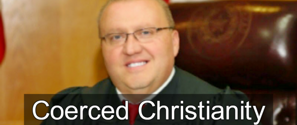 Texas Judge Intimidates Court With Christian Prayers