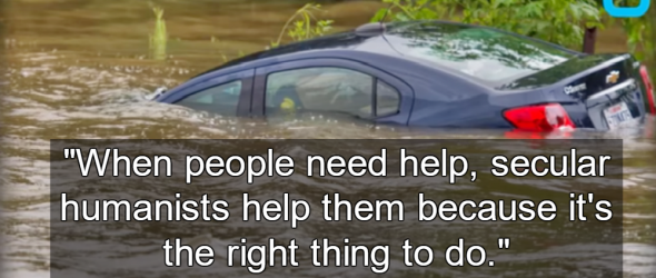 Humanists Respond To Louisiana Flooding