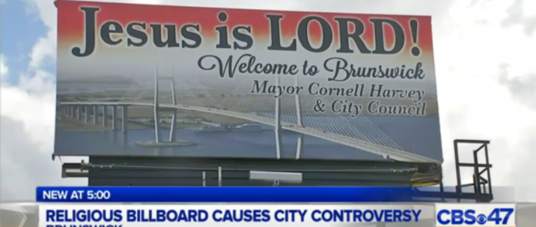 Georgia Town Abandons Constitution For Jesus