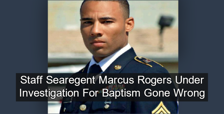 soldier drowns after baptism goes bad at fort campbell