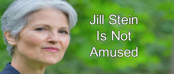 Jill Stein Wants National Conversation On Oppressive Comedians