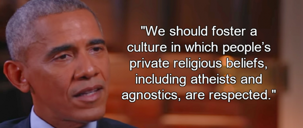 Obama Talks Atheism With Bill Maher