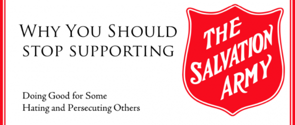 Salvation Army: Anti-Gay Christian Church Not Worthy of Support