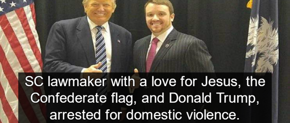 Family Values: GOP Lawmaker Charged With Domestic Violence