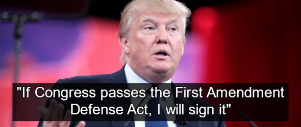 First Amendment Defense Act Promotes Christian Theocracy
