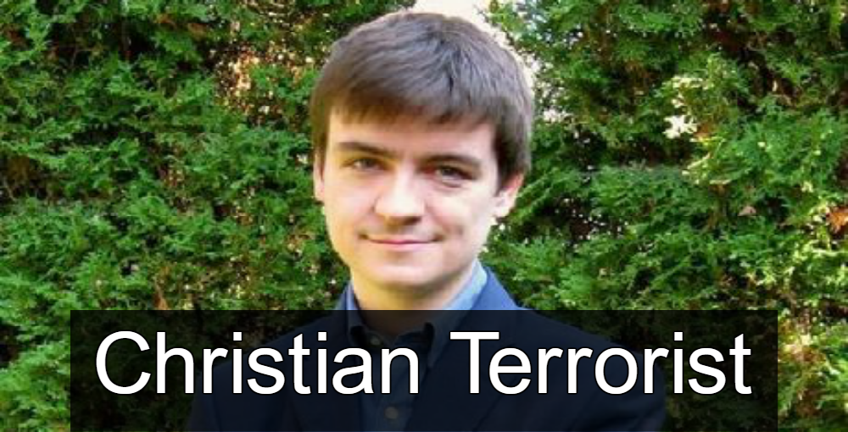 Alexandre Bissonnette - Christian Terrorist (Image via Facebook)