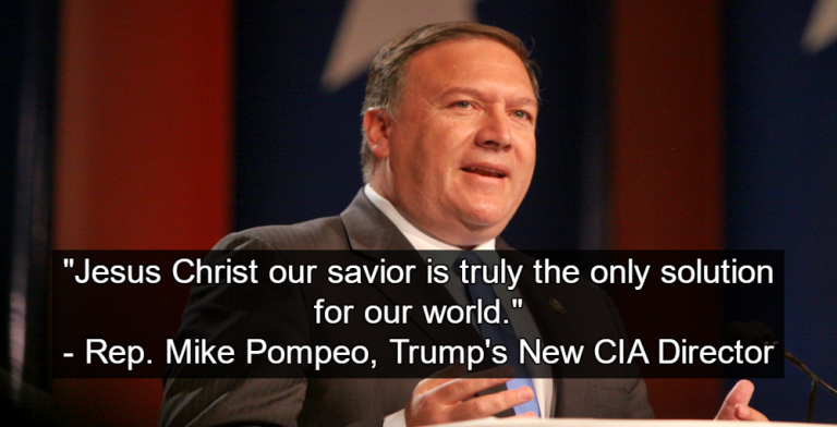 Trump's CIA pick Mike Pompeo (Image by Gage Skidmore)