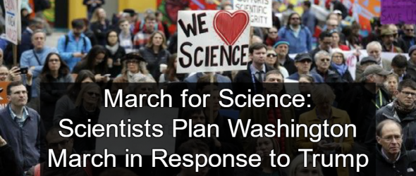 Scientists Plan March On Washington In Response To Trump